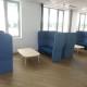 TrueDesign Oracle highback sofa, Pedrali Malmö table